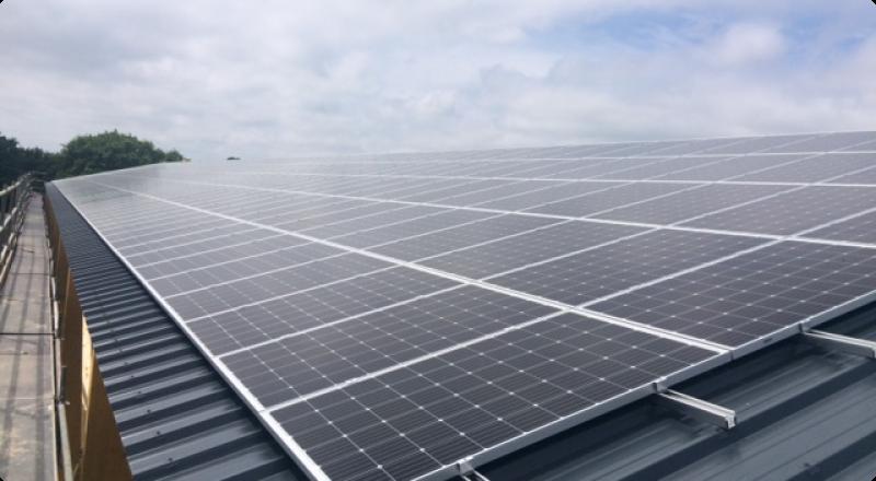 Photovoltaïque, les entreprises s'engagent.